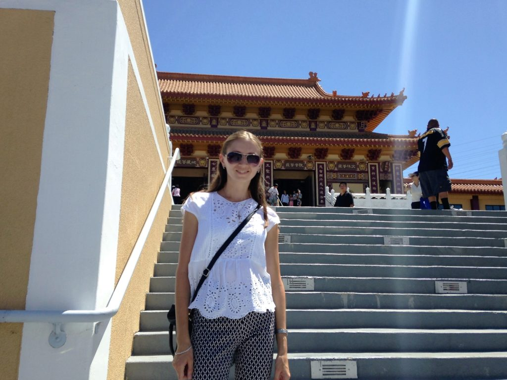 Hsi Lai Temple is one of the most beautiful Asian temples in Los Angeles area.