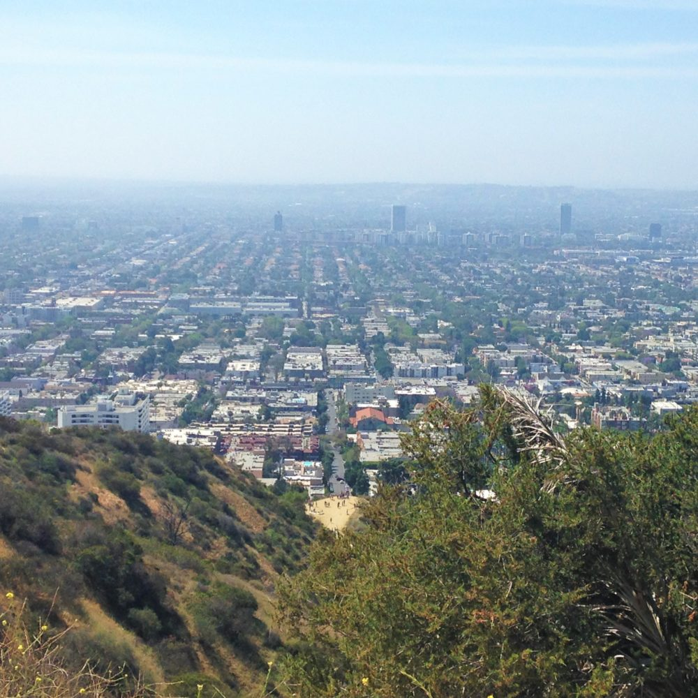 Spectacular views of Los Angeles