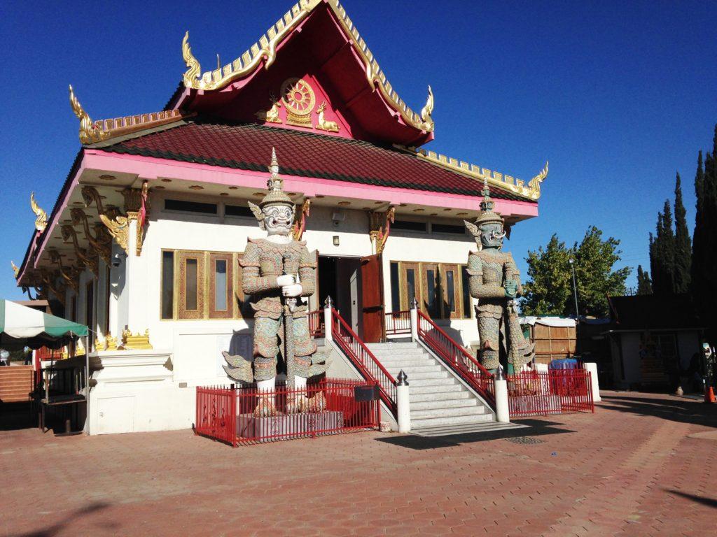 Wat Thai of Los Angeles one of the best Asian temples in Los Angeles to get Thai food.