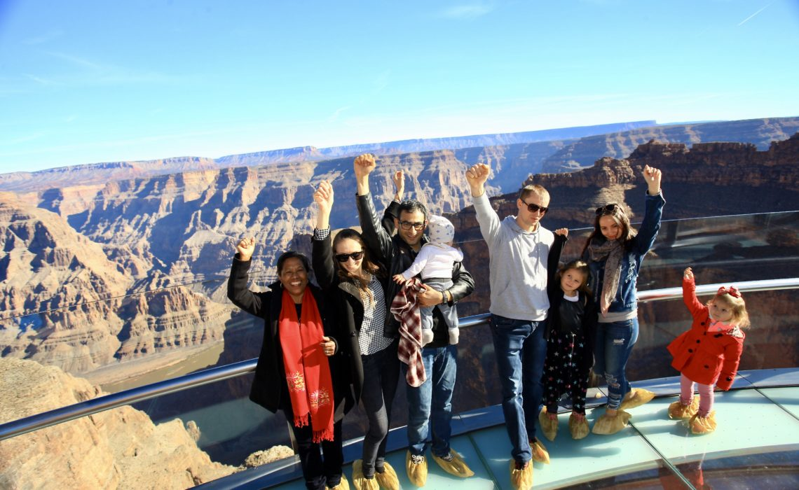 This One Time Experience Skywalk At Grand Canyon West Rim