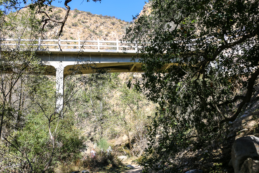 Mt. Wilson Tall Road Bridge
