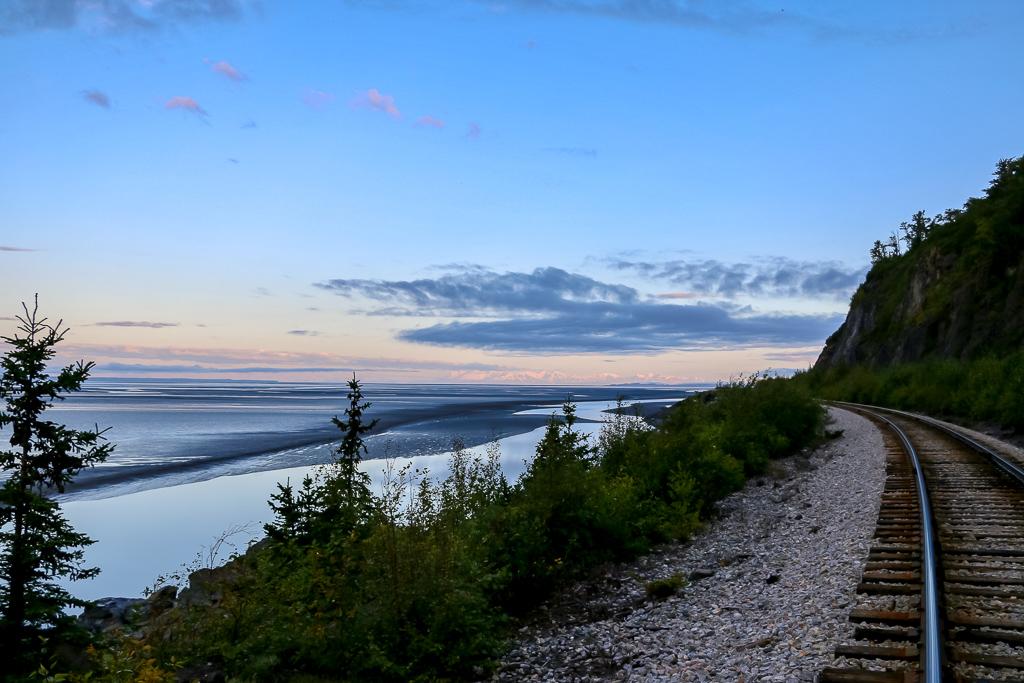 The famous Alaska railroad
