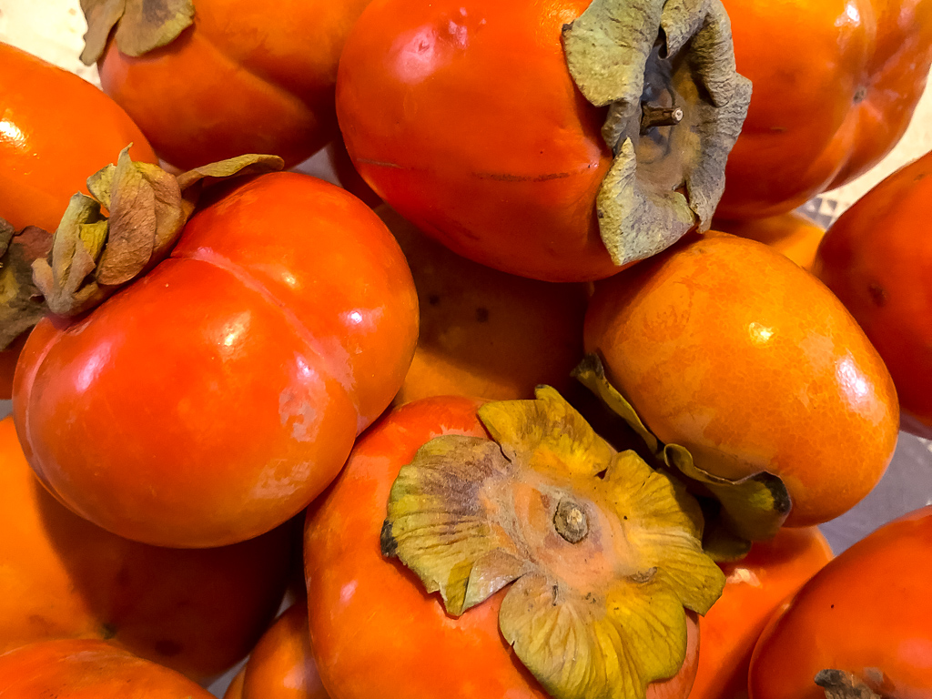 And of course, Thanksgiving without persimmons is not the same