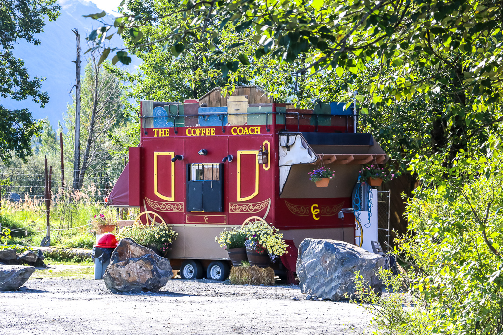 Coffee? The Alaska Wildlife Conservation Center got your covered