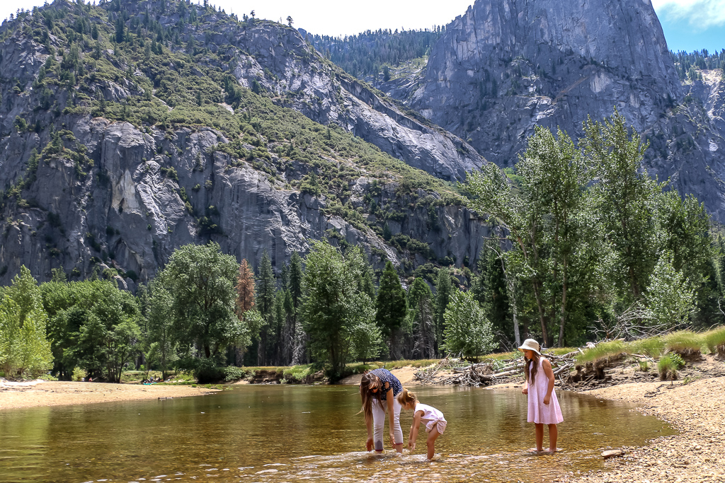 Merced River with its crystal-clear water charms and keeps all visitors unable to leave it.