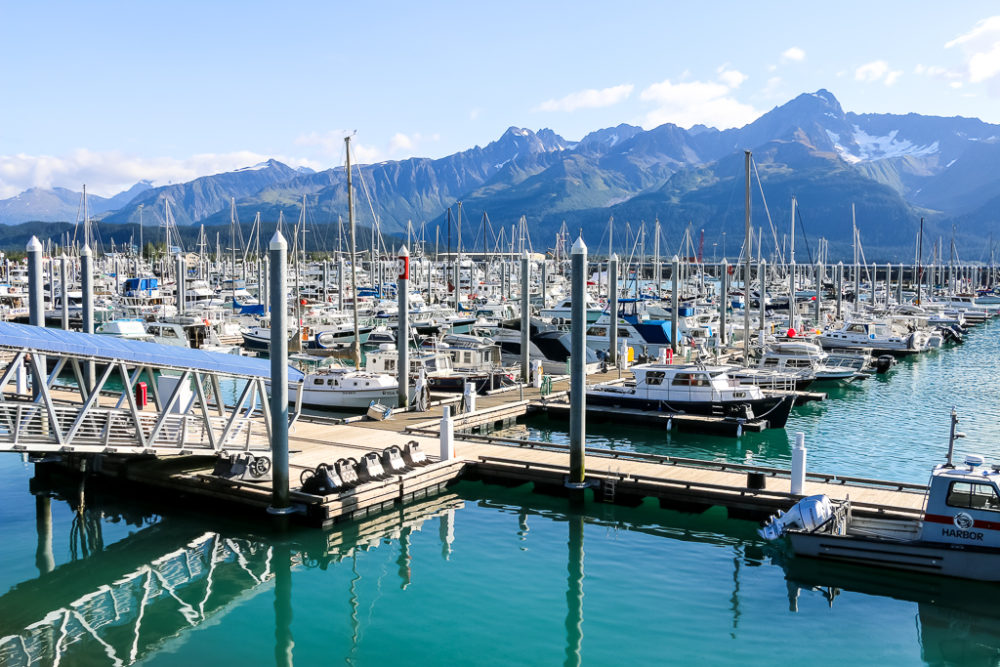 Seward Boat Harbor, the best time to travel to Alaska, www.roadsanddestinations.com