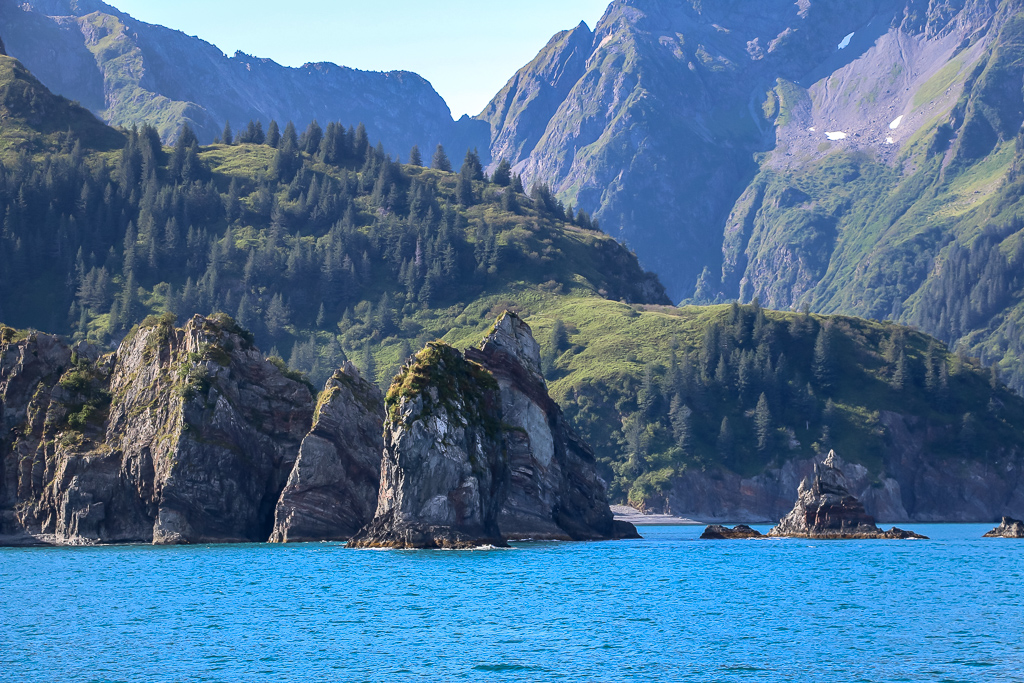Spire Cove is one of the prettiest places in Kenai Fjord National Park
