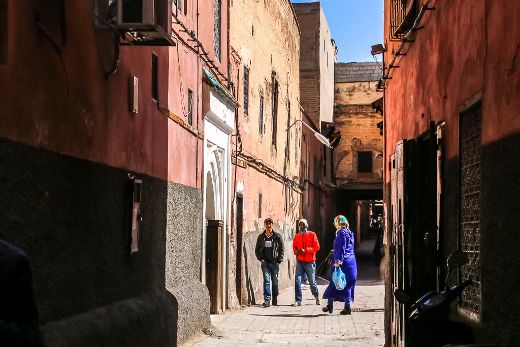 Alleys to avoid