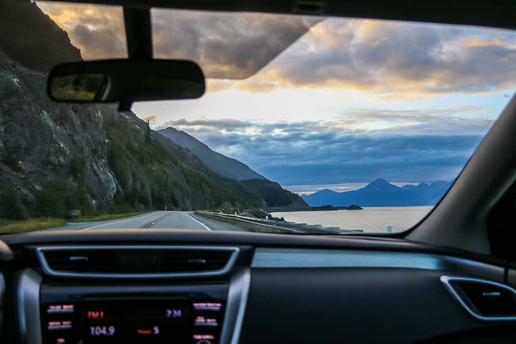 Rental car or public transport in Alaska