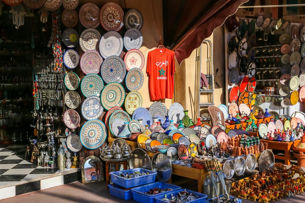 Famous souks of Marrakech