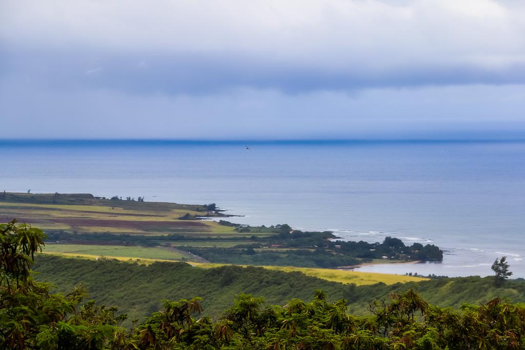 Kauai coastal line