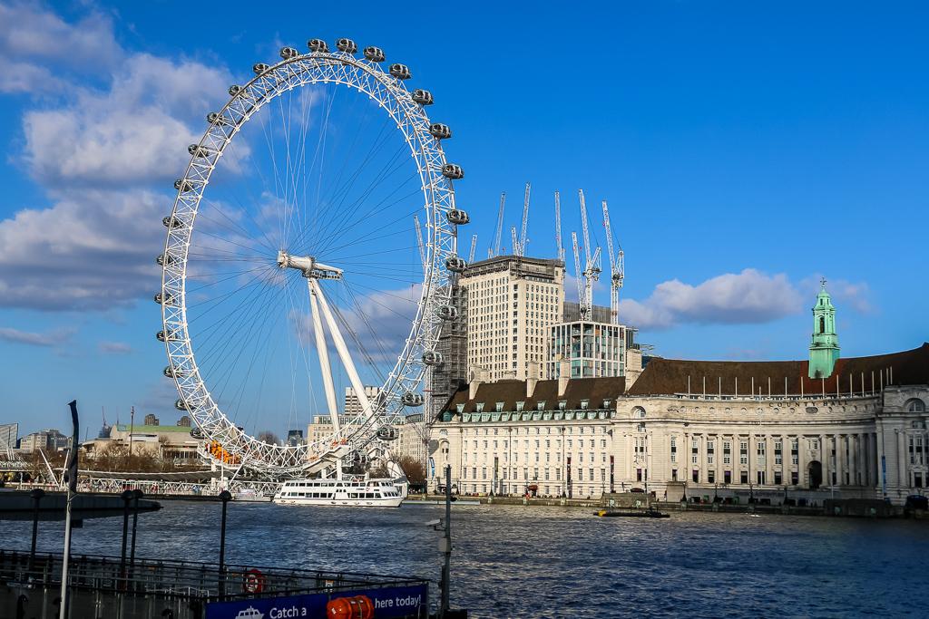 World-famous London Eye