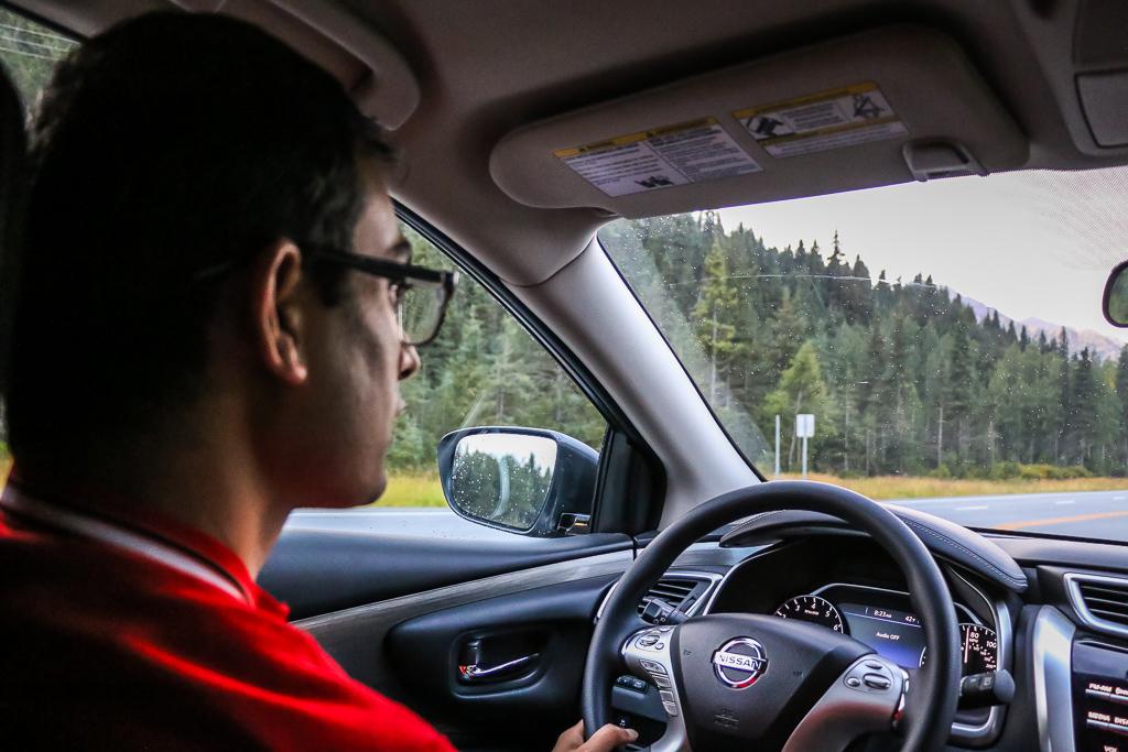 Road trip in Alaska