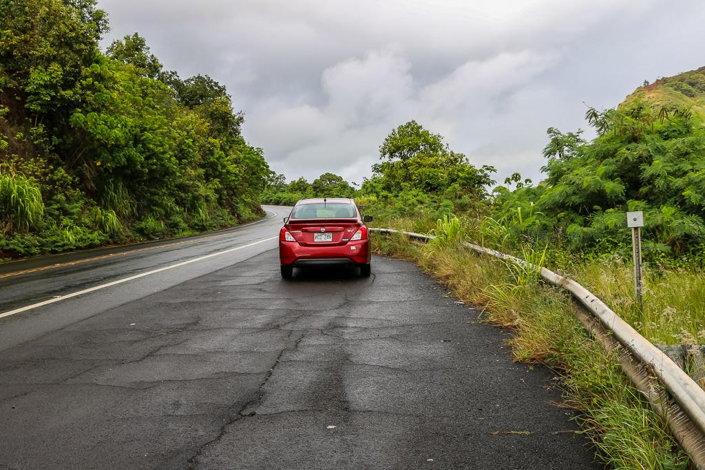Road tripping on Kauai, Hawaii