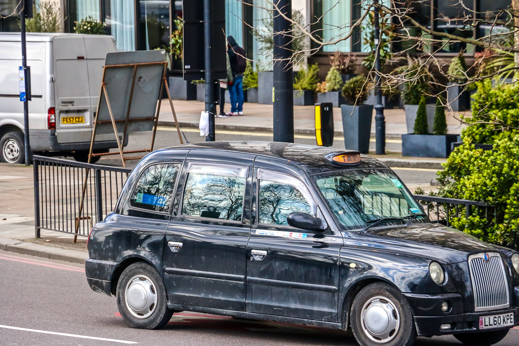 classic black taxicabs - Roads and Destinations, roadsanddestinations.com