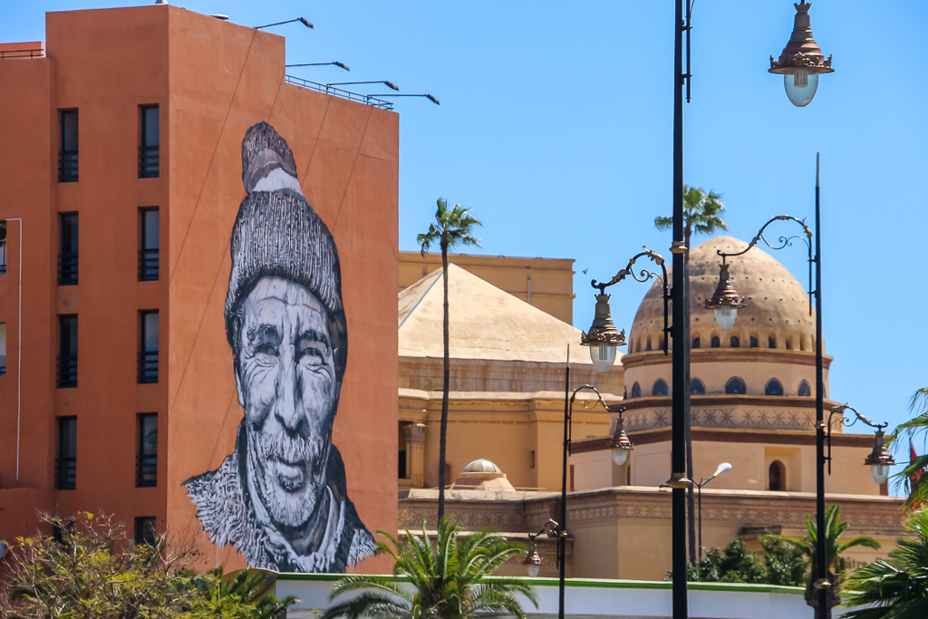 The new city of Marrakech