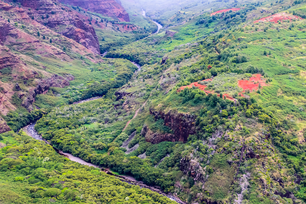 Waimea Canyon State Park - view from above