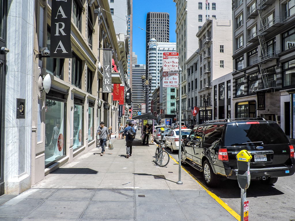 Business Disctrict of San Francisco