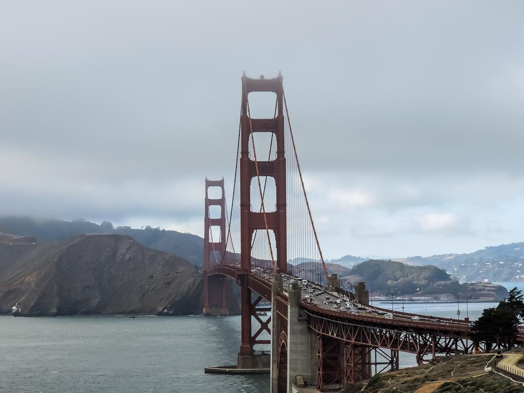Golden Gate Bridge is an absolute must in San Francisco in 24 hours