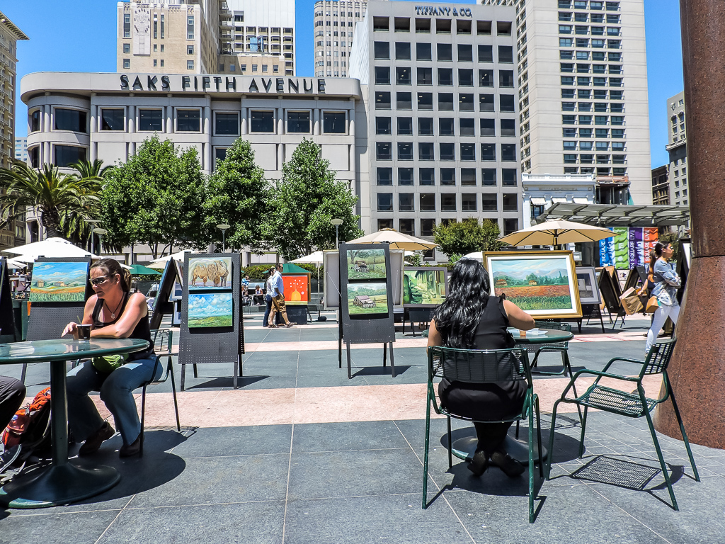 San Francisco in 24 hours. Union Square