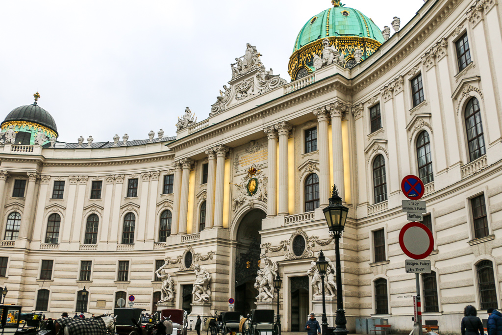 More then Destination, Hofburg
