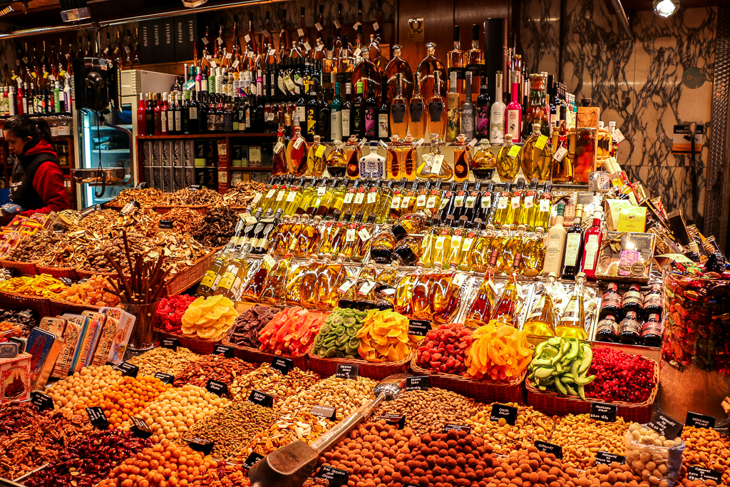 More than Destination, Boqueria Market