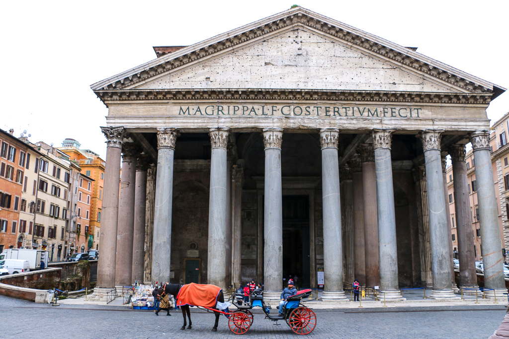 Pantheon, roadsanddestinations.com
