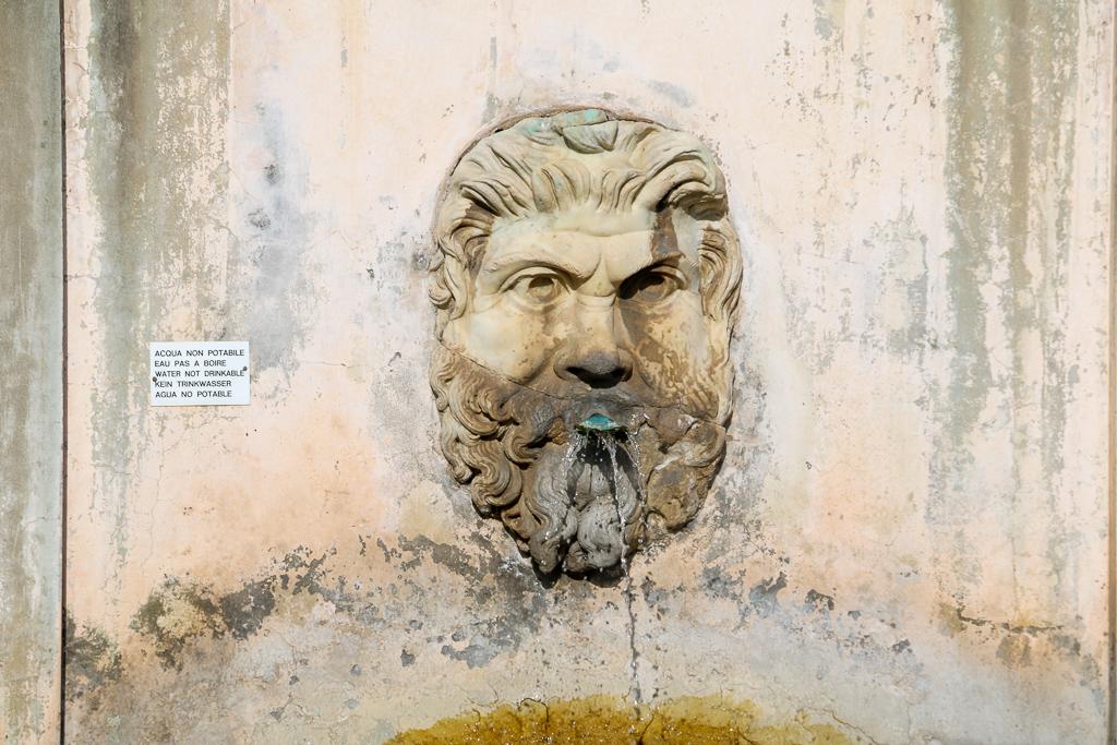 Sculptures at the courtyard, roadsanddestinations.com