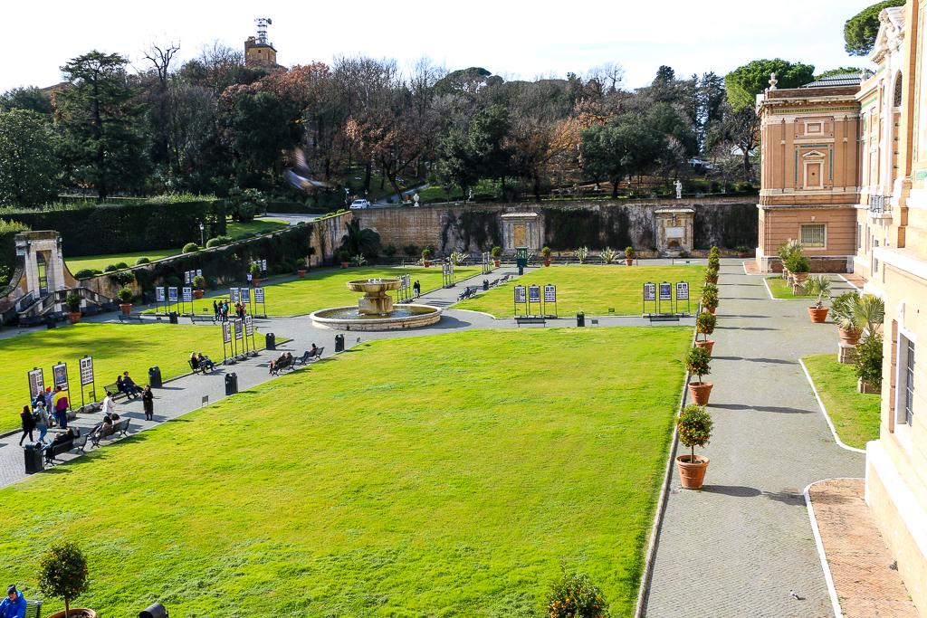The Gardens of Vatican City, roadsanddestinations.com