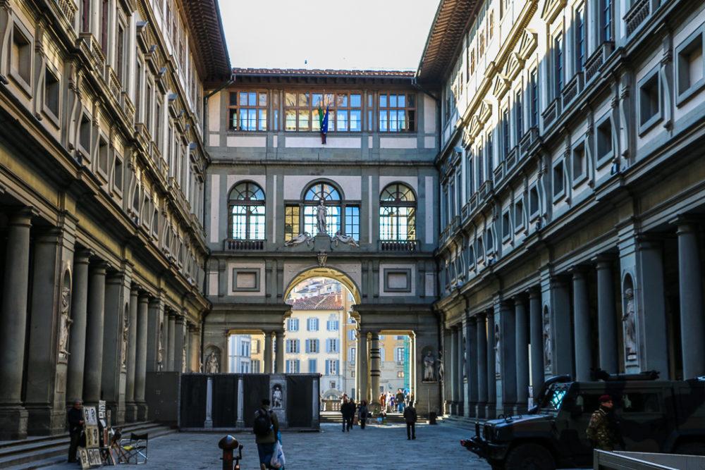 Uffizi Gallery, roadsanddestinations.com