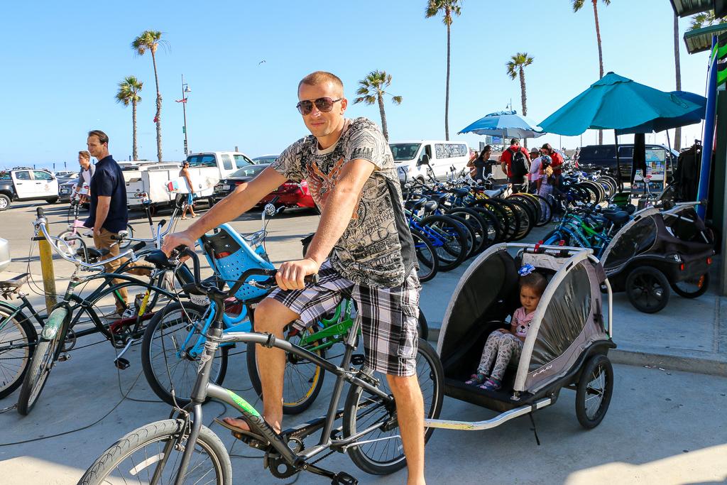 Biking In Venice, roadsanddestinations.com