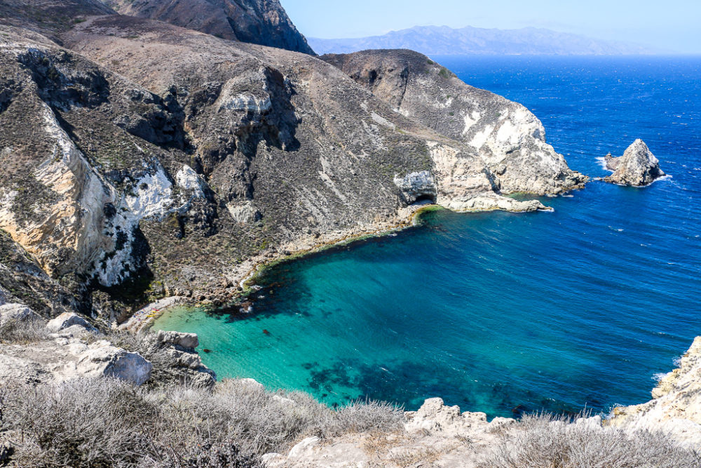 Channel Islands, one day on Anacapa Island - Roads and Destinations, roadsanddestinations.com