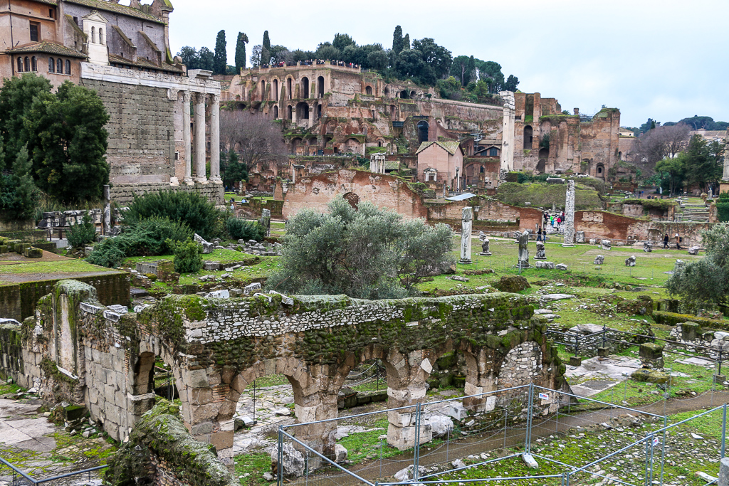 Historical Sites in Rome roadsanddestinations.com