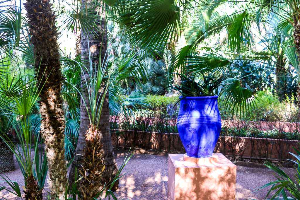 Majorelle Garden Colorful Gem of Marrakech; roadsanddestinations.com