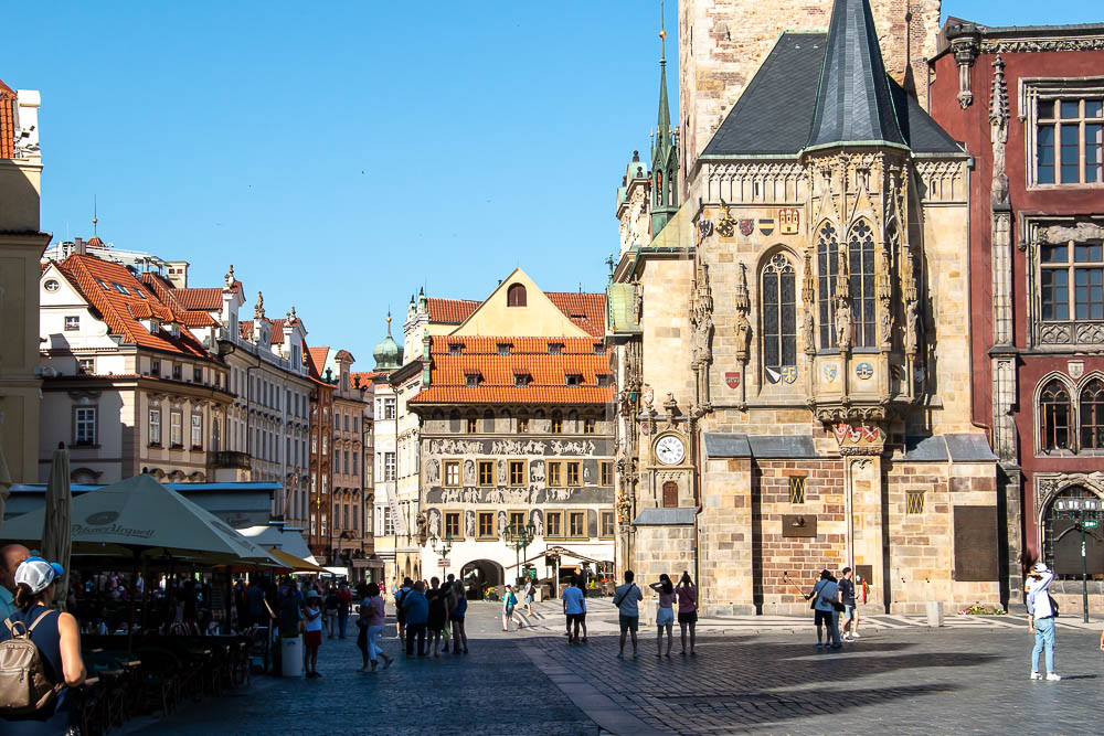 Old Town Square, Prague, roadsanddestinations.com