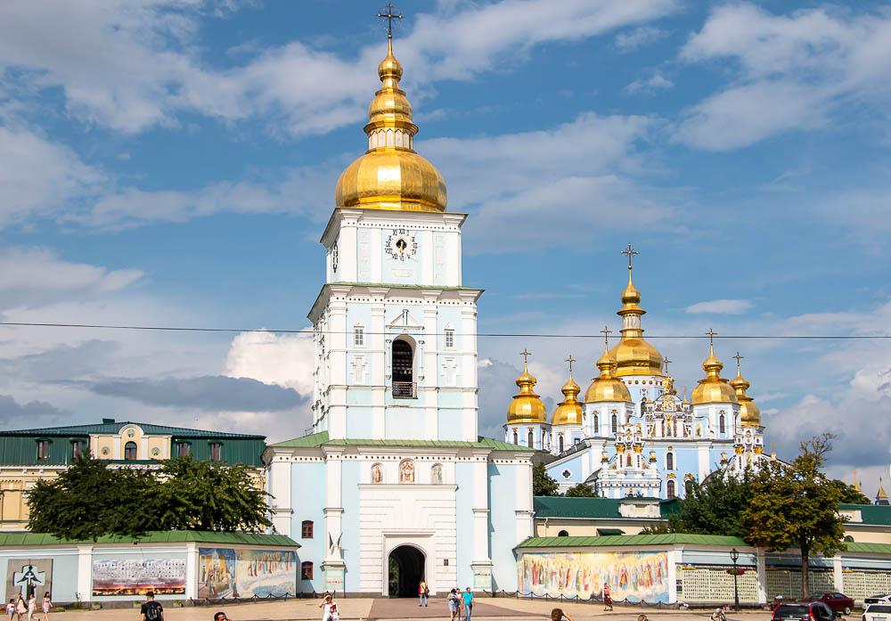 St. Michael's Golden-Domed Monastery, roadsanddestinations.com
