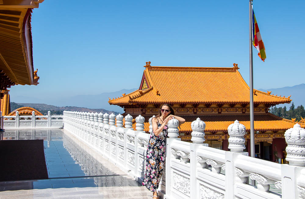 Finding Zen behind Tall Walls of Hsi Lai Temple, Los Angeles - Roads and Destinations, roadsanddestinations.com