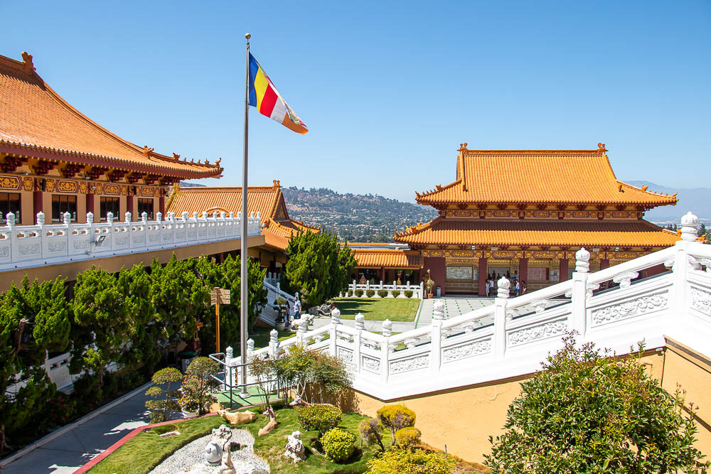 Finding Zen behind Tall Walls of Hsi Lai Temple, Los Angeles. roadsanddestinations.com