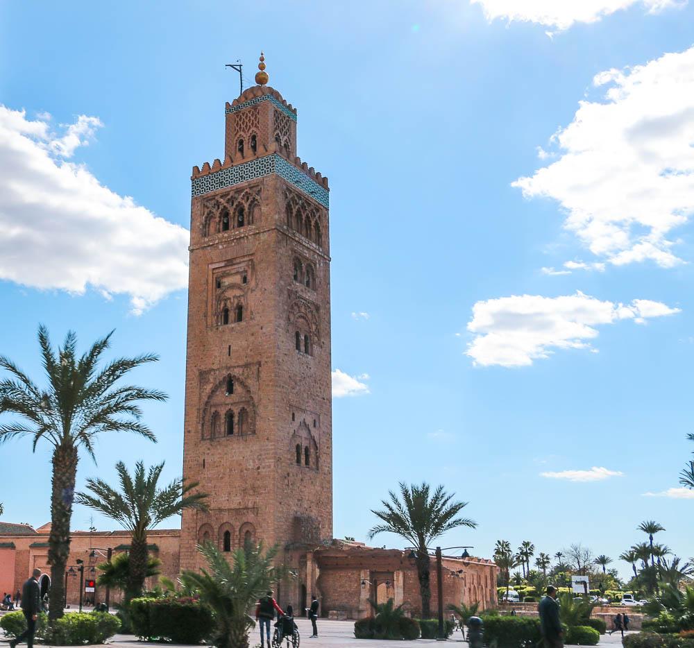 Koutoubia Mosque, www.roadsanddestinations.com