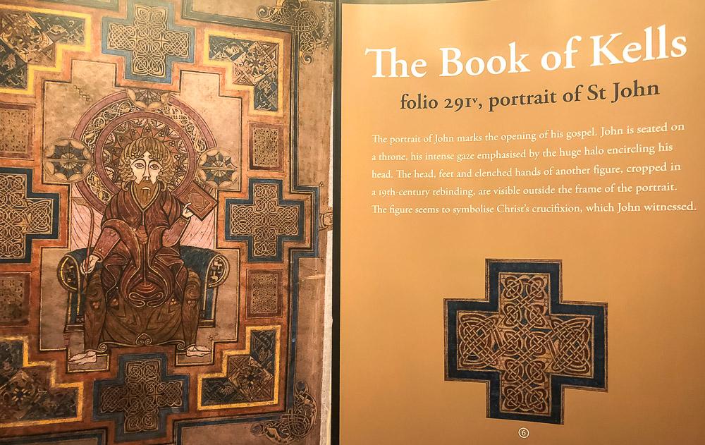 The Book of Kells - Roads and Destinations, roadsanddestinations.com.