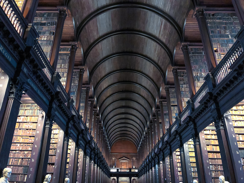 Visit Trinity College Library - Roads and Destinations - roadsanddestinations.com.