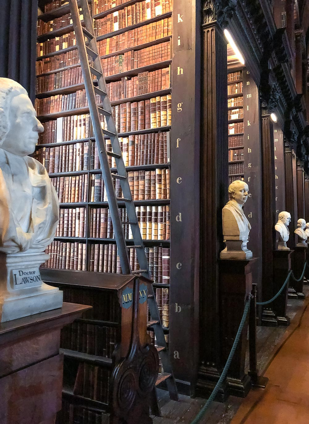 Visit Trinity College Library, Books to Read in October - Roads and Destinations, roadsanddestinations.com.