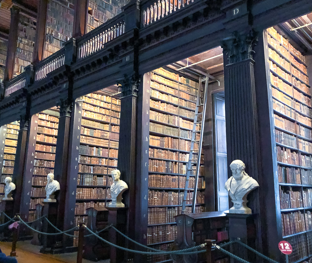 Visit Trinity College Library - Roads and Destinations-roadsanddestinations.com.