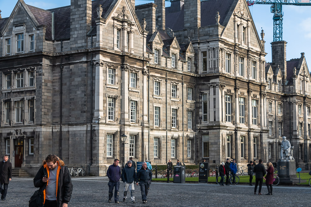 Visit Trinity College Library - Roads and Destinations, roadsanddestinations.com
