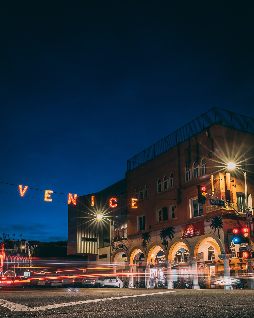 Venice Sign - Roads and Destinations, roadsanddestinations.com