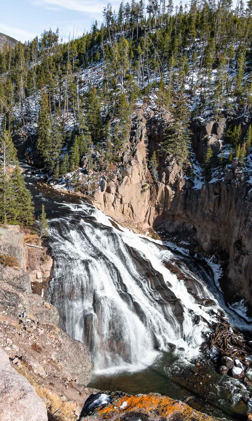 Gibbon Falls - Roads and Destinations roadsanddestinations.com