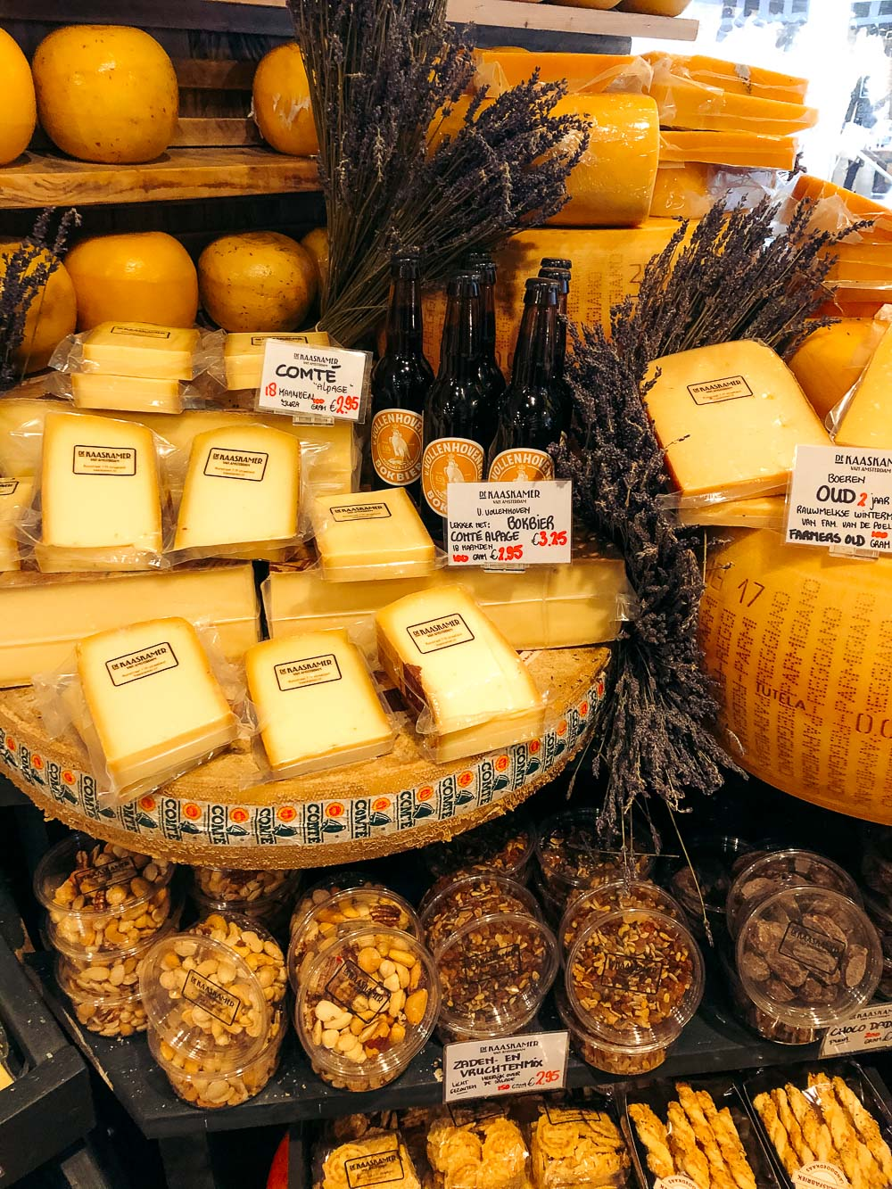Cheese shops in Amsterdam - Roads and Destinations, roadsanddestinations.com