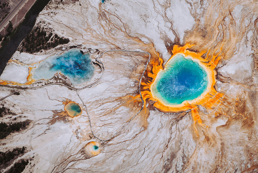 Visit Grand Prismatic Spring - Roads and Destinations _ roadsanddestinations.com