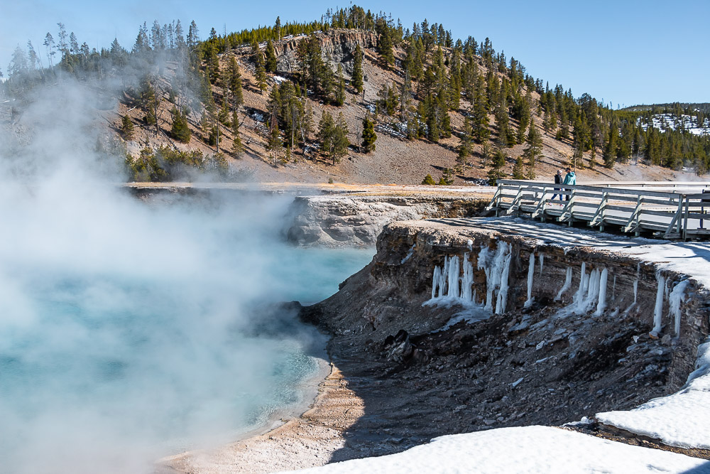 Excelsior Geyser Crater - Roads and Destinations, roadsanddestinations.com