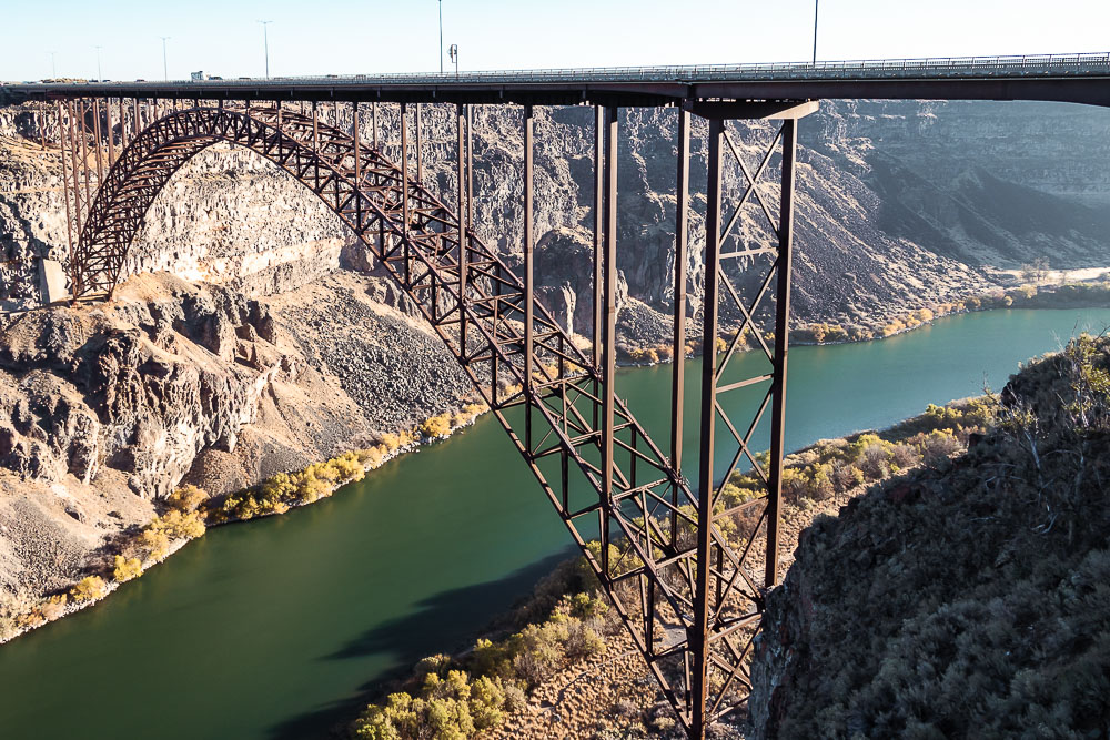Perrine Bridge, Idaho - Roads and Destinations, roadsanddestinations.com